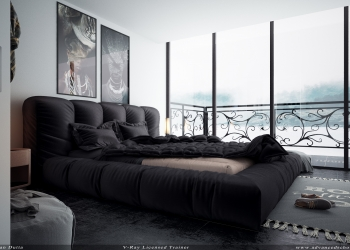 Interior room black