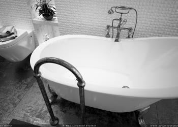 Toilet Black and white