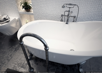 Toilet render 3ds max with V-ray