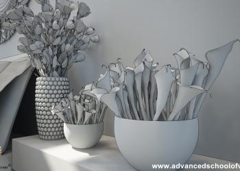 d_White_Flower_Bedroom_Grey